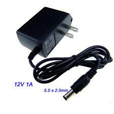 1pcs DC Power Adapter 12 Volt 1 Amp 5.5 x 2.5mm US Plug AC Supply 100V~240V
