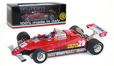 Brumm R268-CH Ferrari 126C2 Turbo San Marino GP 1982 - D Pironi 1/43 Scale