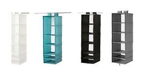 Organizador Original Zapato Almacenamiento Detalles Cajas 6 Ikea Armario De Nueva Compartimentos Colgante Seis Título Ver Skubb 8OP0wXnk