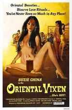 Oriental Vixen Poster 01 A3 Box Canvas Print
