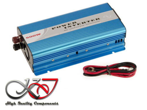 Converter Inverter Charger Ups 12v to 220v - 500w - Pure Sine Pure Sinus