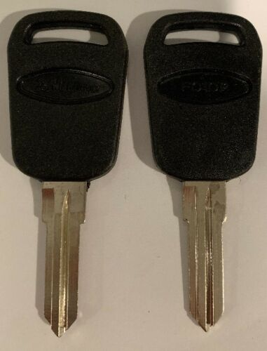 Ilco X86 FITS Ford Set of 2 Silca FO10P Uncut Key Blanks