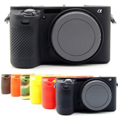 Protector de la piel de silicona caso de Cámara Bolsa De Cubierta Protector para Cámara Sony A6500