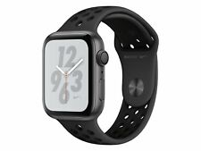 Apple Watch Series 4 Nike+, 44 mm, Alu. space grau, Sportarmb. anthr./blk
