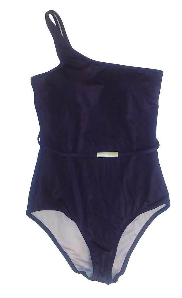 Victoria's Secret One -piece Belted Asymmetric One Shoulder baddräkt små