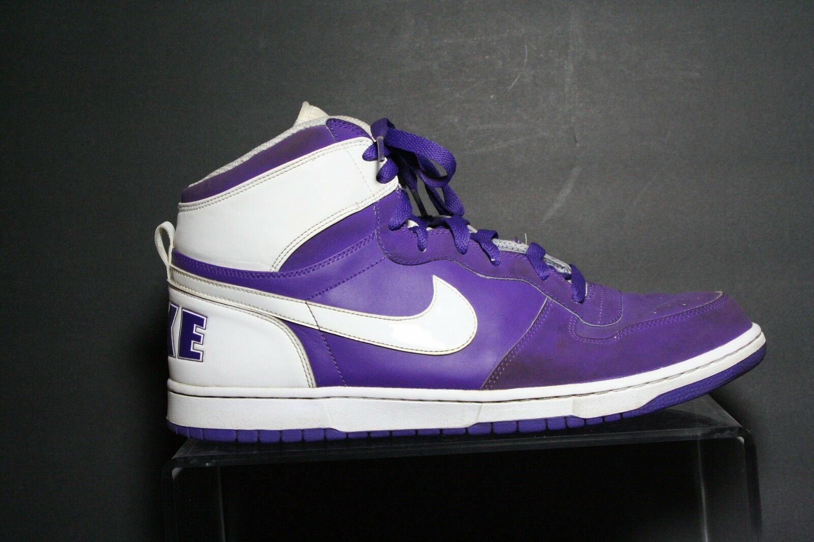 Nike Big Dunk High 03' Sneaker Athletic Multi Purple Sz 14 Basketball Hip Jordan