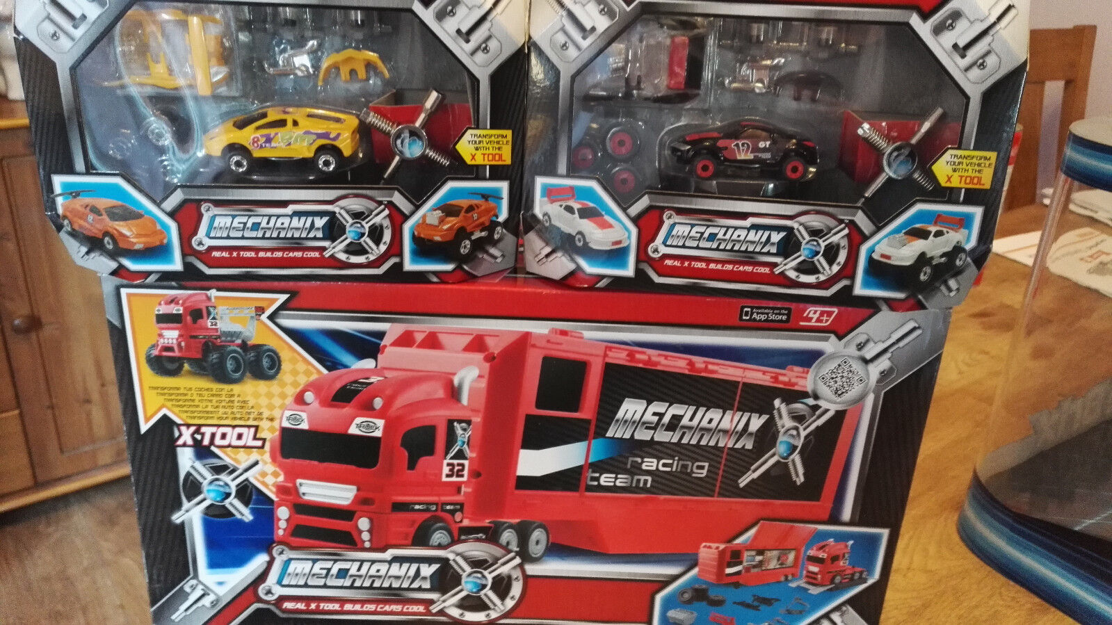 MECHANIX RACING TEAM SET + GRAN TOUR SET + TST RACER SET - Recieve ALL 3 - set 1