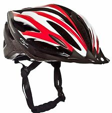 Sport Direct™ Vento OutMould Bike Bicycle Helmet Red/White/Black 53-58cm