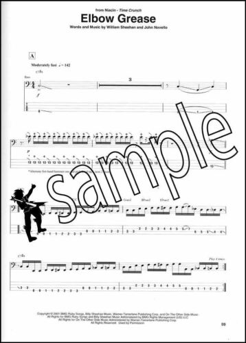 Best of Billy Sheehan Bass Guitar TAB Music Book Chameleon Talas Niacin Mr Big