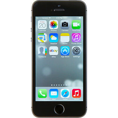 Apple  iPhone 5s - 16 GB - Space Grey - Smartphone