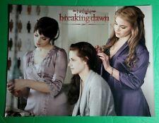 TWILIGHT BREAKING DAWN PART 1 BELLA ROSALIE ALICE DOING HAIR 8.5X11 PHOTO POSTER