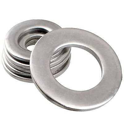 M3.5 3.5mm STAINLESS STEEL A2 FORM A FLAT WASHERS TO FIT SCREWS BOLTS DIN 125