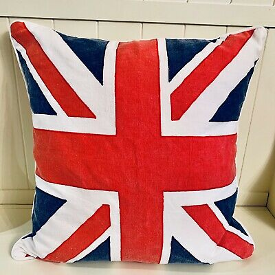 Union Jack British Flag 20 Pillow