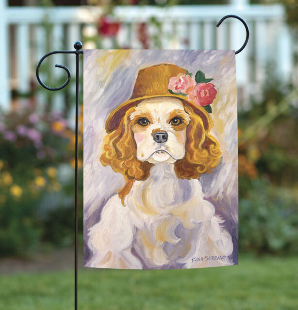 English Cocker Spaniel Garden Flag 18x27in Outdoor Flag For Sale Online Ebay