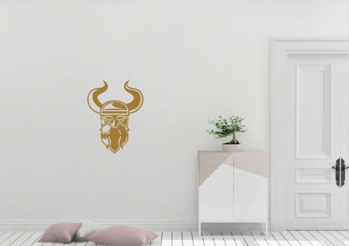 Viking Head Inspired Design Home Decor Wall Art Decal Vinyl Sticker