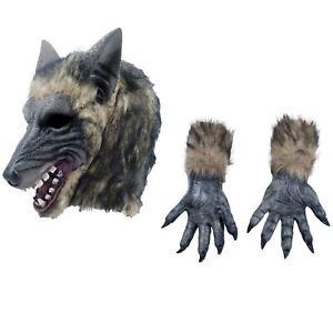 THEE 1 Par de Garra de Lobos de Juguete Accesorios de Disfraz de Halloween
