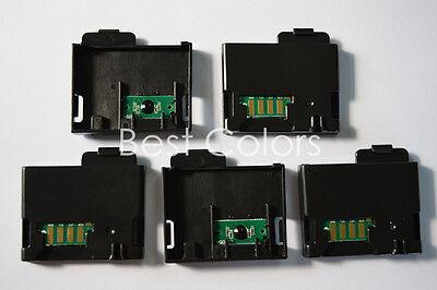 5 x Toner Chip For Xero Phaser 6010 6015 106R01634 106R01631 106R01632 106R01633