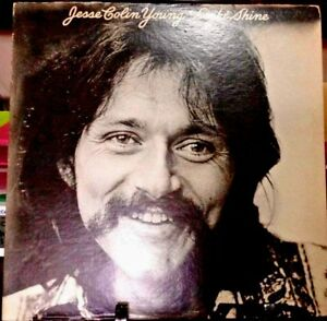 JESSE-COLIN-YOUNG-Light-Shine-Album-Released-1974-Vinyl-Record-Collection-USA