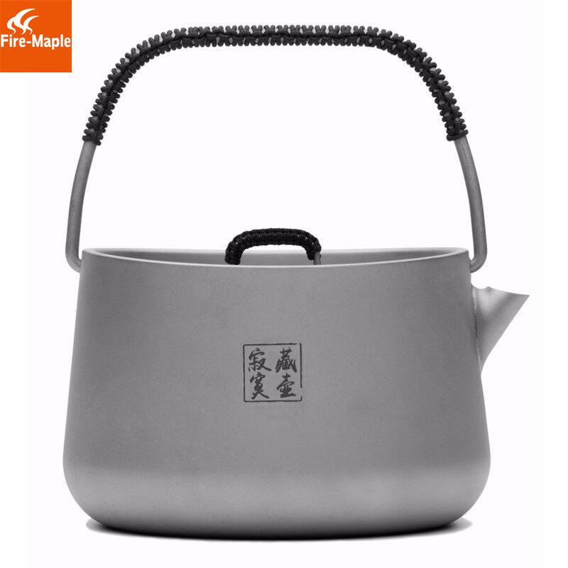 Fire Maple Titanium Outdoor  Camping Pinic Coffee Tea Pot Teapot Kettle 185g 1L  online sales