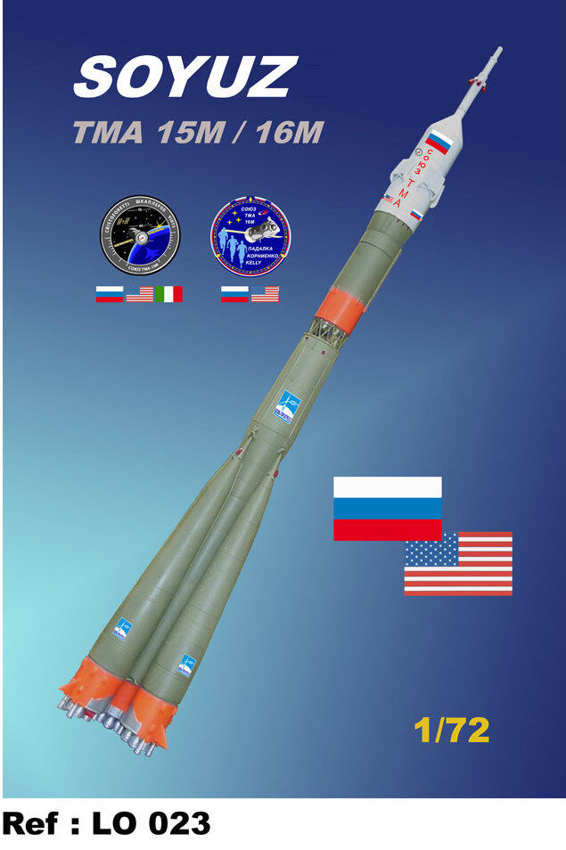 Mach 2 1 72 Soyuz (USA) TMA 15M 16M L023