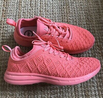 APL Salmon Pink Trainers UK6 Net A