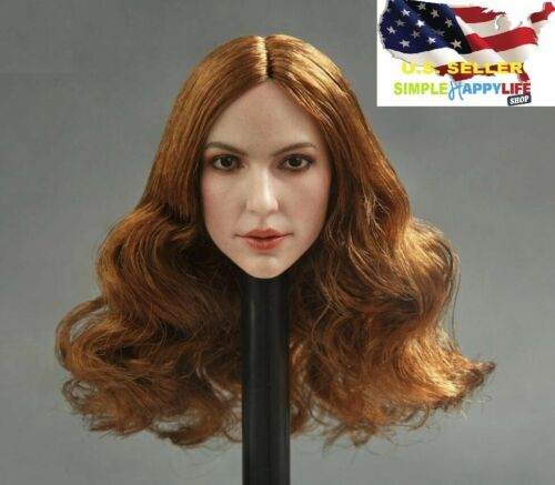 1//6 female head sculpt GC013 A for Phicen Pale Hot toys Kumik ❶US IN STOCK❶