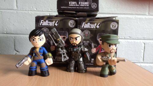 Fallout Mystery Minis-Macready Vault habitant et Paladin Danse