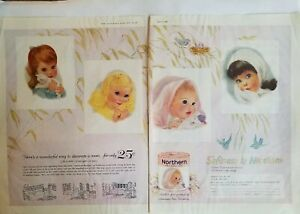 1960-Northern-bathroom-toilet-tissue-little-girl-plaques-to-decorate-room-ad