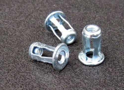 Blind Jack Nut Zinc  #10-24   10-Nuts