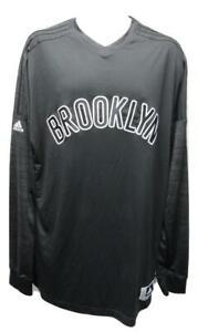 Brooklyn-Nets-Mens-Sizes-2XL-3XL-4XL-2-Adidas-Climalite-On-Court-Shirt-70