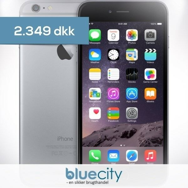 iPhone 6 Plus, GB 128, sort