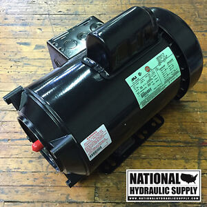 Spx stone fenner ac motor kmc17 1633 bc 2hp 3450 rpm 1ph for G stone motors used cars