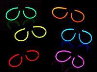 6 Knicklicht Piloten-brillen Sets 6 Farben-mix Oder Einfarbig