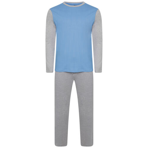 Mens Lounge PJ Pyjamas Sets Night Wear PJ/'s 2 Piece Pyjama Set Gents New Styles