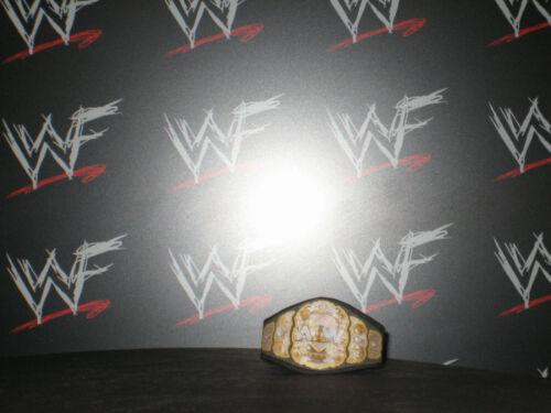 Custom AEW Championship Title Belt Hasbro Mattel Retro Wrestling Figures WWF WWE