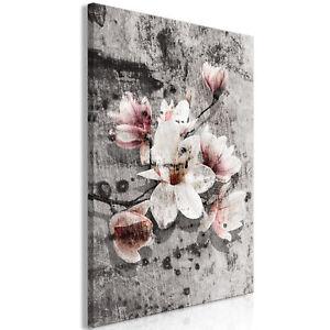 Leinwand bilder blumen abstrakt moderne wandbilder xxl for Kunstdruck wohnzimmer