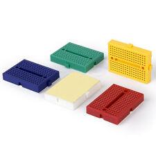 5pc 170 Tie-points Mini Solderless Prototype Breadboard for Arduino Shield MI