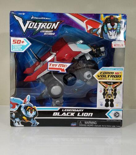 2017 Voltron légendaire Electronic Black Lion ACTION FIGURE NEW IN BOX