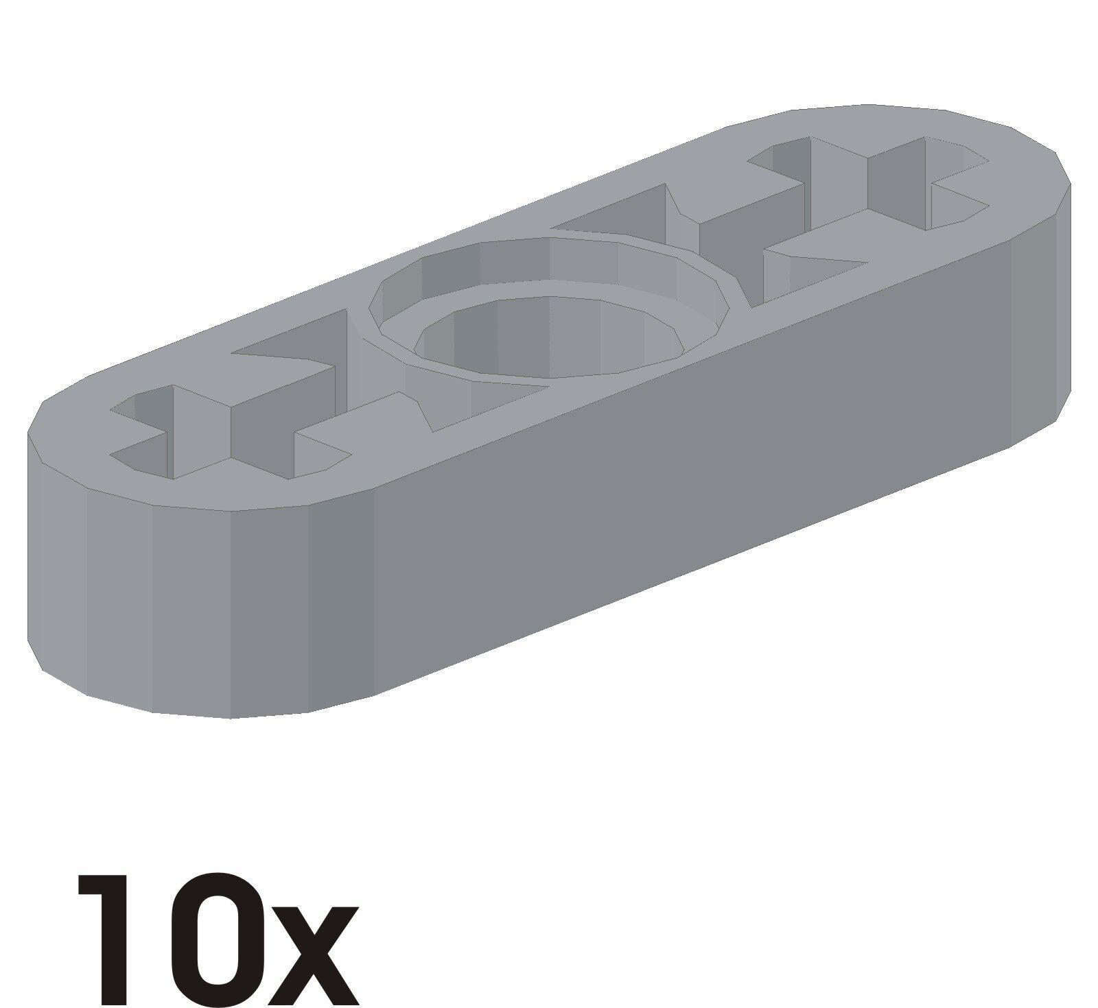 10 Pièce Nouvelle Liftarme 1x3x0,5 dans Alt-Gris clair clair clair 4107825 (6632) 160 3c4b11