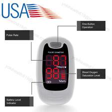 Usa Fingertip Pulse Oximeter Spo2 Blood Oxygen Heart Rate Pr Machine Contec