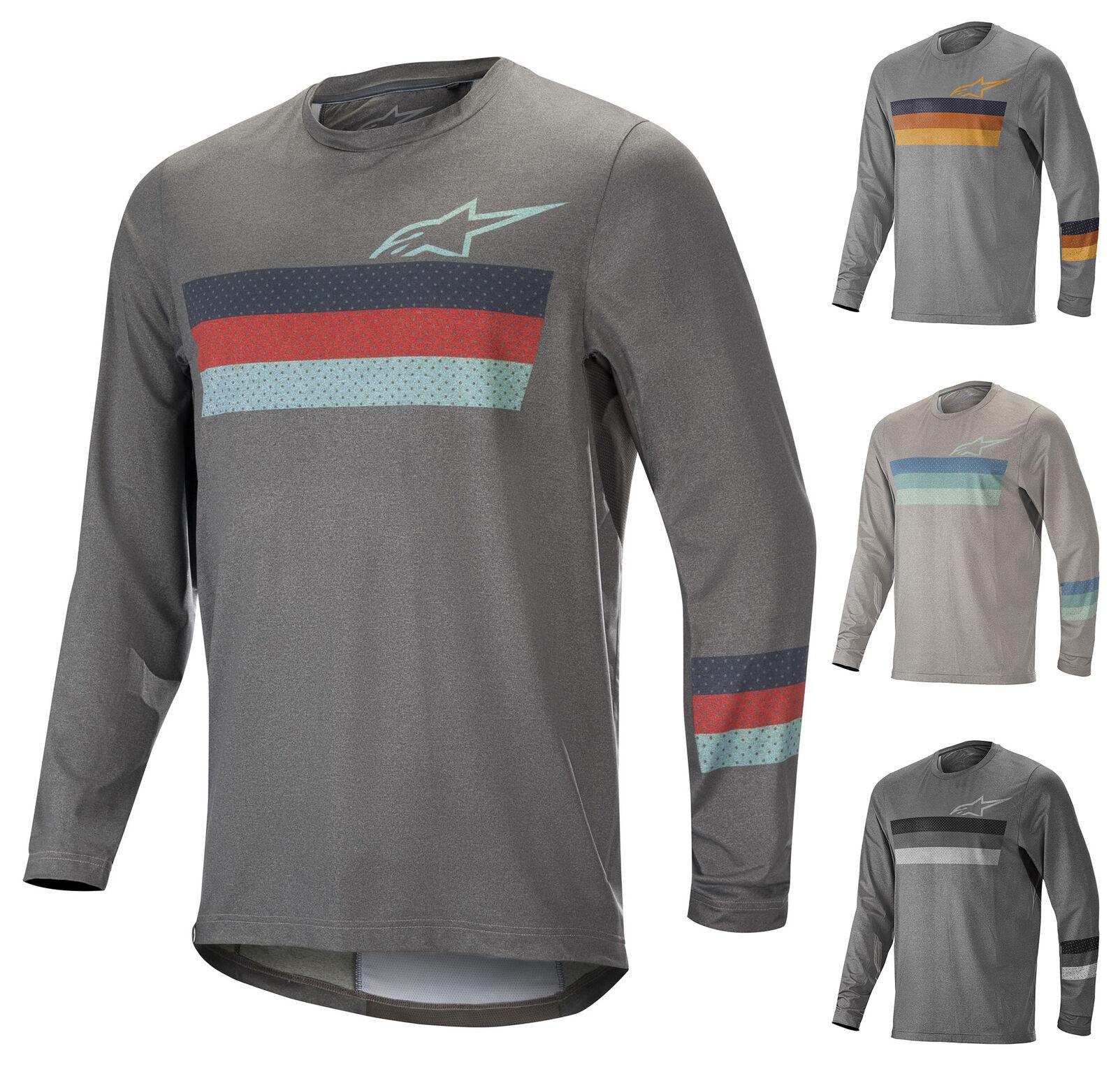 1763819 Alpinestars ALPS 6.0 LS JERSEY Mens T-Shirt MTB Mountain Biking Trail