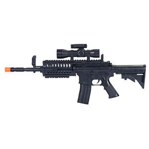 airsoft gun m4 a1 m16 tactical assault spring special ops carbine