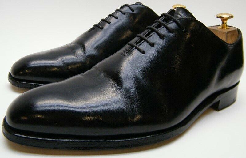 Para Hombre Charles Tyrwhitt Negro Formal Vestido De Cuero Oxford Zapatos EE. UU. 9.5  1 2 M