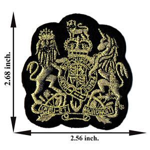 Gold-Lion-Unicorn-Animal-Applique-Iron-on-Patch-Sew-For-T-shirt-Jeans-Cap-Hat