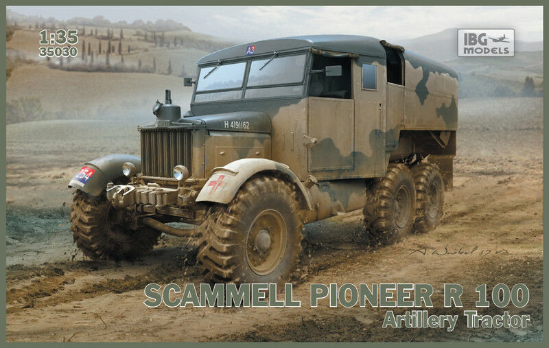 IBG 35030 Scammell Pioneer R100 Artillery Tractor scale 1 35
