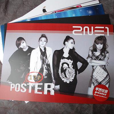 K-POP  2NE1 DARA BOM C.L MINZY 12 Posters (12PCS) Collection Bromide NEW !!