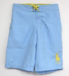 2b60e57043ea1b Polo Ralph Lauren Swimsuit Blue Yellow Pony Logo Swim trunks suit ...