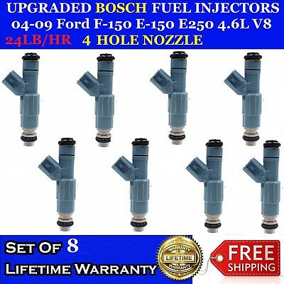 10X Upgraded Bosch 4 Hole Flow Matched Fuel Injectors for 96-97 Dodge Ram 8.0L