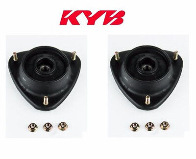 Pair Set of 2 Front KYB Suspension Strut Mounts Kit For Subaru Legacy Outback