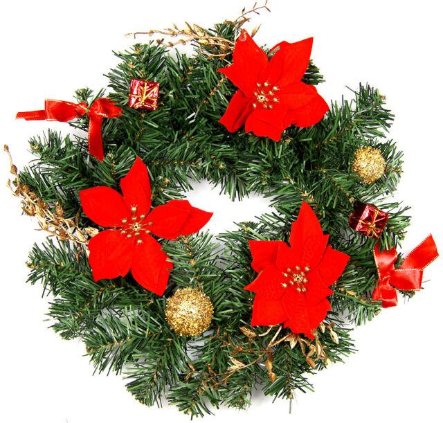 Türkranz Weihnachtskranz Adventskranz Weihnachtsdeko Weihnachten 4 Farben